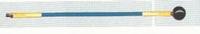 Stok: eindstok lengte 1,5m, Ø 12 mm  per stuk