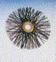Nylon ragebol, rond Ø 200 mm  per stuk