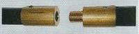 Schoorsteenvegersstok L 2000 mm  per stuk