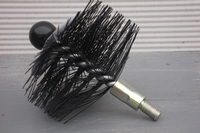 Ragebol, nylon, rond met multi spiraal Ø 400 mm  per stuk