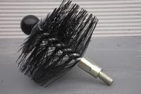 Ragebol, nylon, rond met multi spiraal Ø 140 mm  per stuk