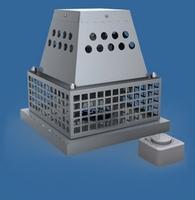 Afzuiger mechanisch voor rookgas 230V/volledig in RVS/INOX  INOX 316/p.stuk