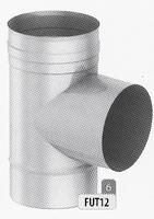 T-stuk 87 graden, diameter 125 mm  Ø125mm