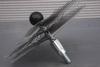 Ragebol, staal, met dubbele spiraal Ø 180 mm per stuk