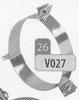 Beugel: tuidraadbeugel, diameter 130 mm Ø130mm