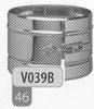 Klemband snelle sluiting, diameter 300 mm DW/p.stuk