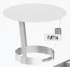 Kap: standaard regenkap, diameter 125 mm Ø125mm